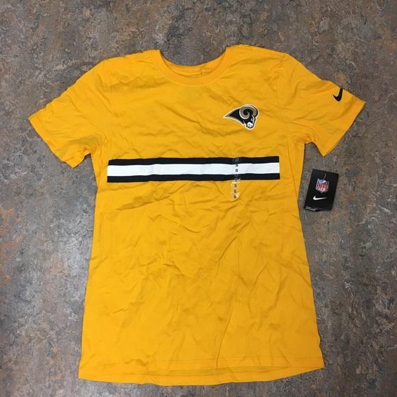 5d3b3f315 Los Angeles Rams Nike Stripe Color Pack T-Shirt
